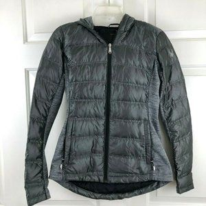 Spyder Solitude Quilted Down Puffer Coat Jacket